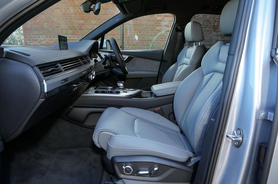 Audi Q7 Interior Autocar