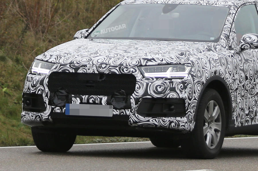 New Audi Q7 nears Detroit motor show launch