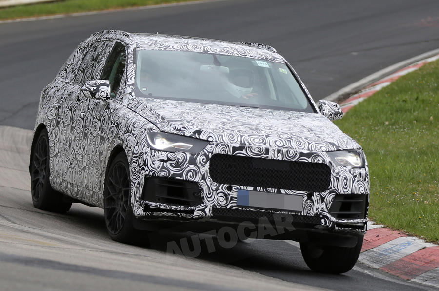 Next-gen Audi Q7 spotted - latest pictures