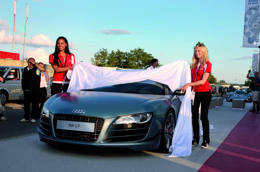Audi's £9m Frankfurt spend