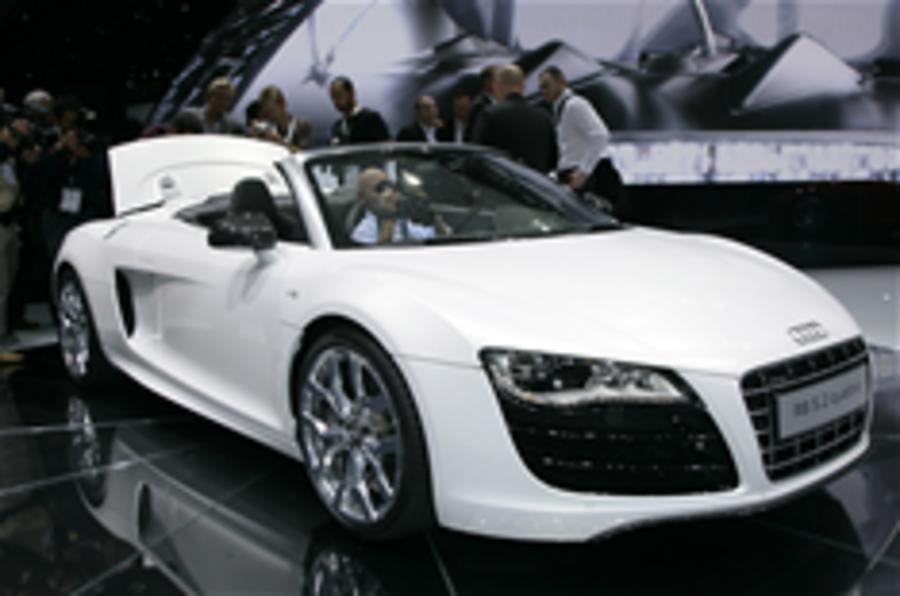Frankfurt motor show: Audi R8 Spyder