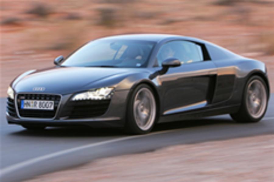£10k premium for Audi R8