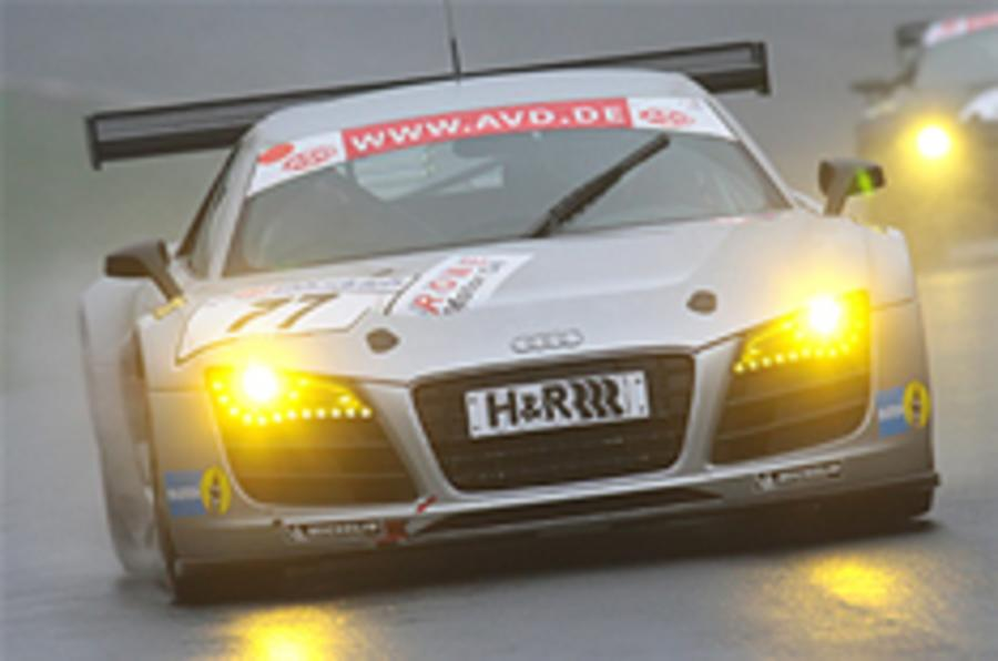 Audi R8s to race at Nurburgring