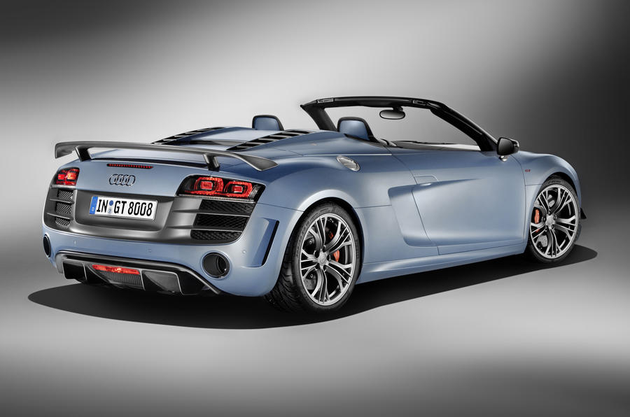 Audi R8 GT Spyder unveiled