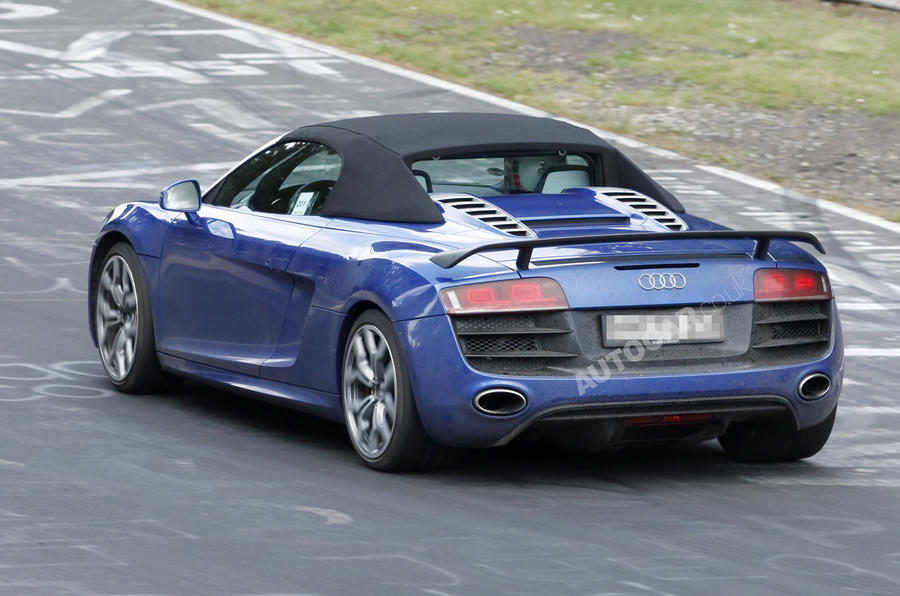 Lightweight R8 takes to the Ring