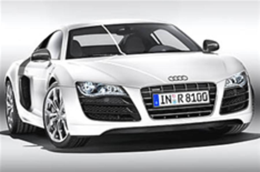 Audi R8 gets V10 power