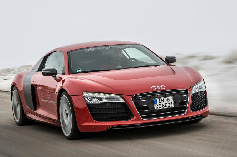 Audi R8 e-tron close to production