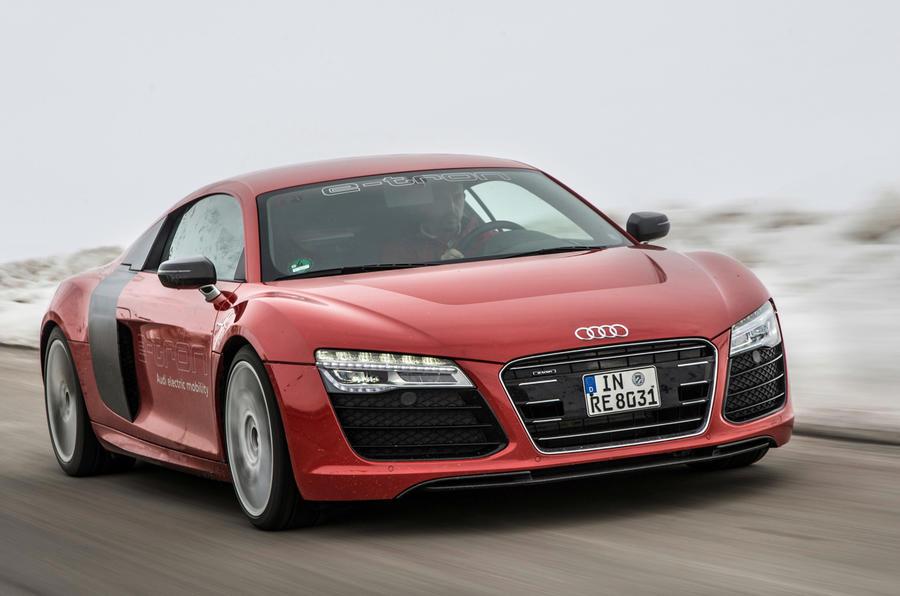 Audi R8 e-tron has a 133 mile range