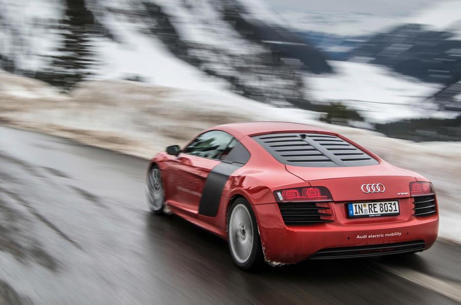 The 124mph Audi R8 e-tron