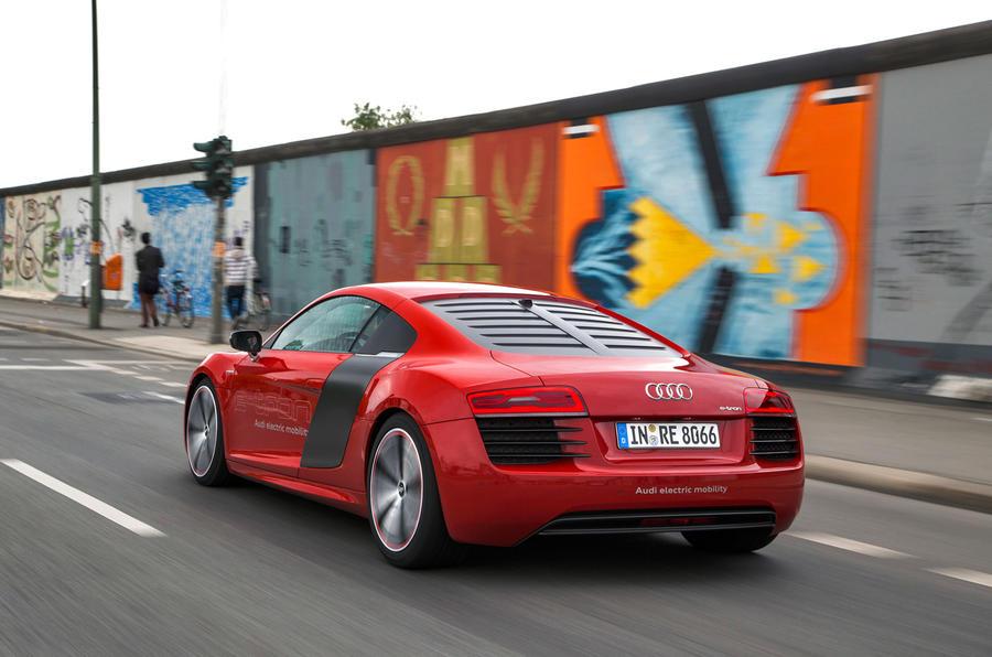 Audi R8 e-tron rear