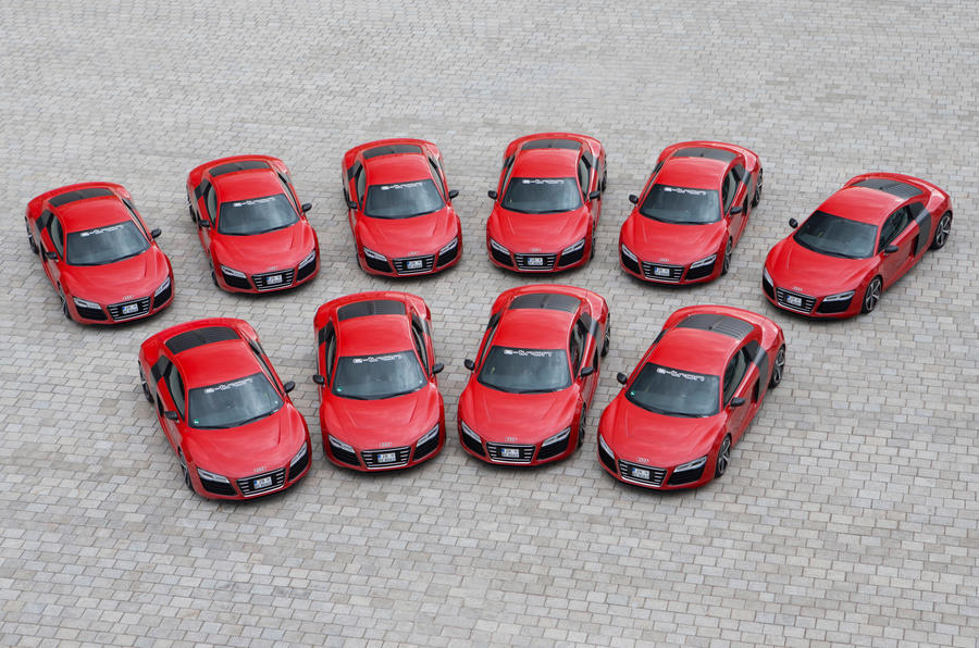 No plans to make the Audi R8 e-tron