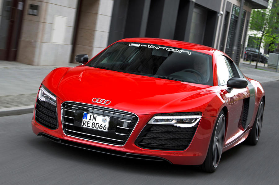 The 530-cell battery Audi R8 e-tron