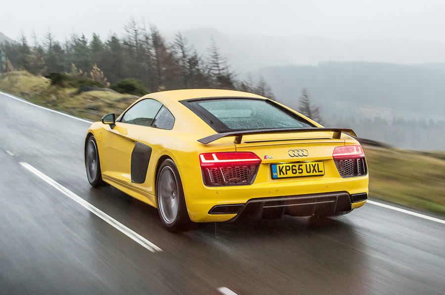 ... This Audi R8 On Test Was Fit With Inglostadtu0027s Finest V10 Engine ...