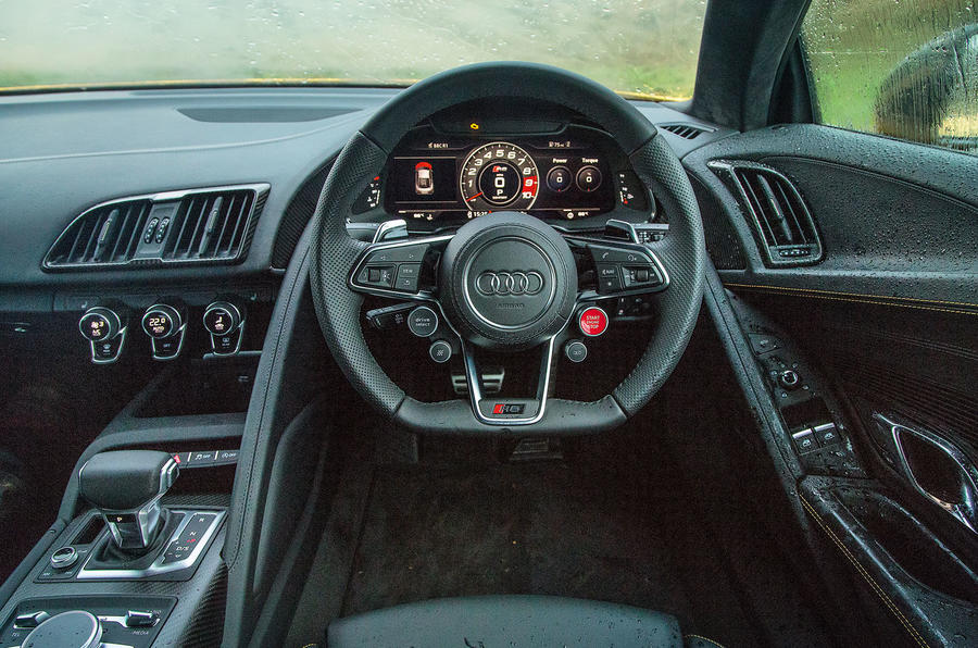 ... Behind The Wheel Of The Audi R8 V10 Plus ...