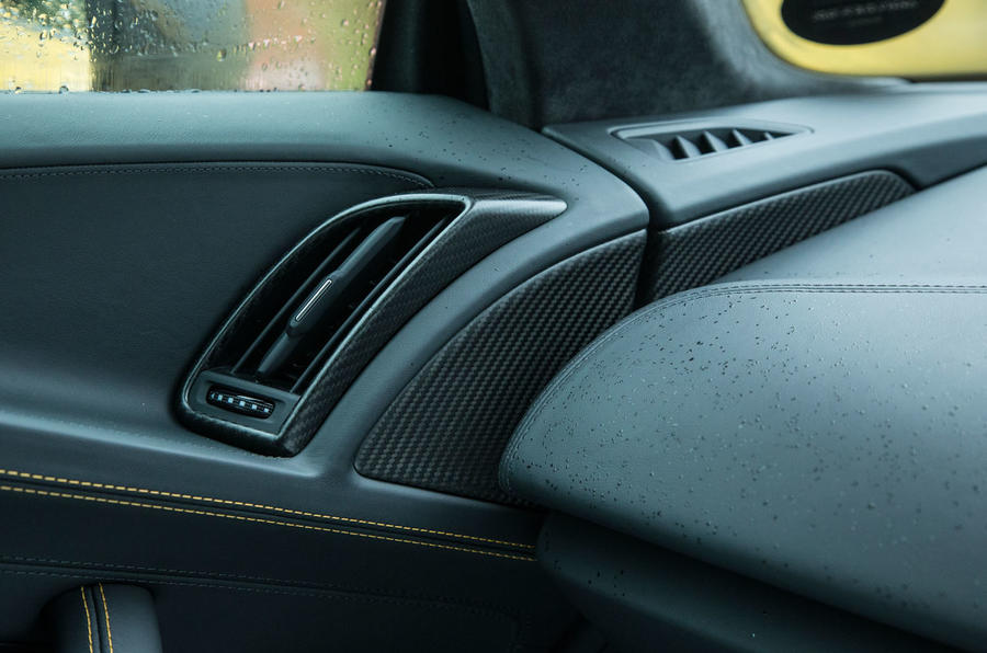 The Audi R8's ventilation system