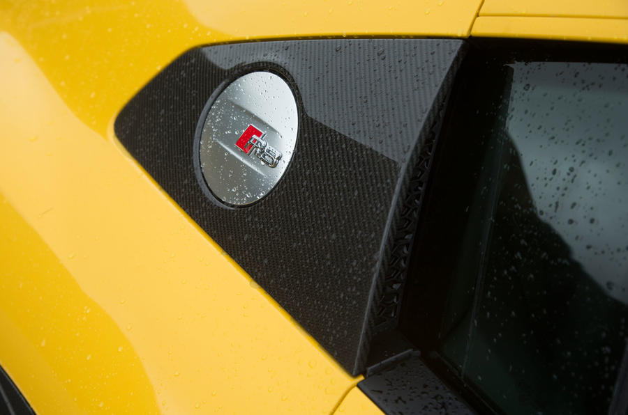 The Audi R8 no longer has a filler cap to unscrew