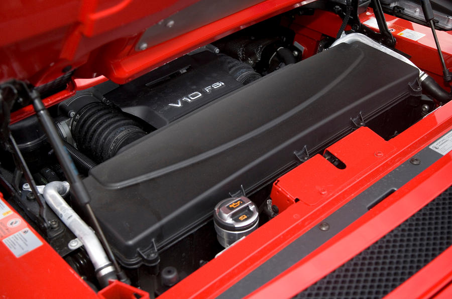 5.2-litre V10 Audi R8 engine