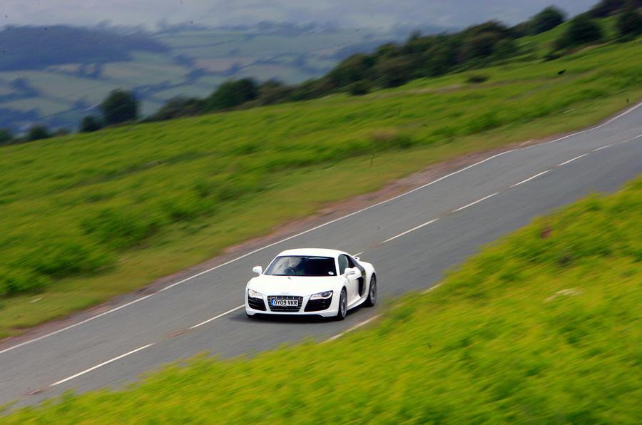 The 517bhp Audi R8 V10