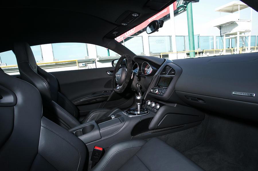 Audi R8's front seats