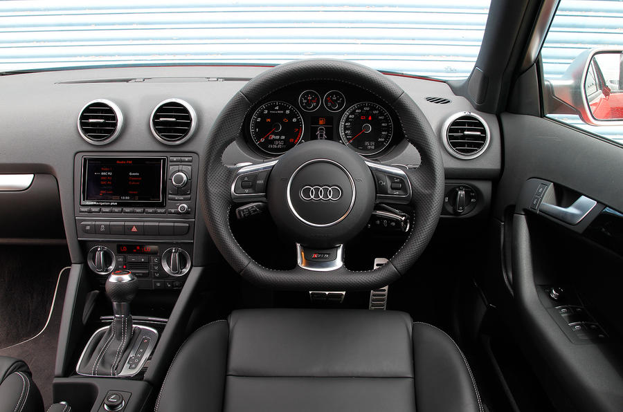 Audi RS3 driver's seat