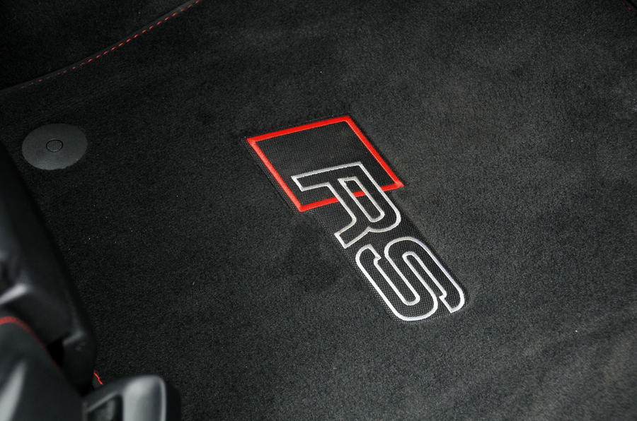 Audi RS3 badged floor mats