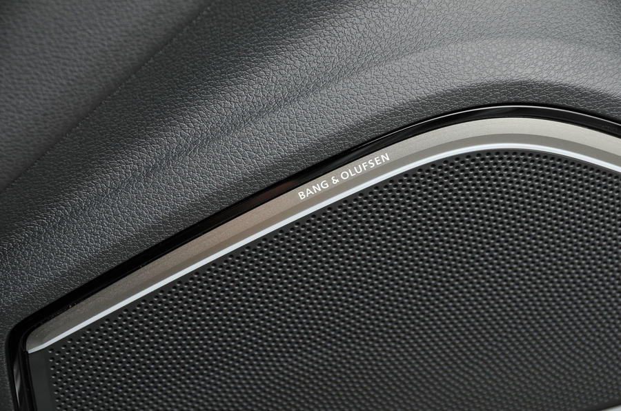 Audi RS3 Bang & Olufsen stereo system