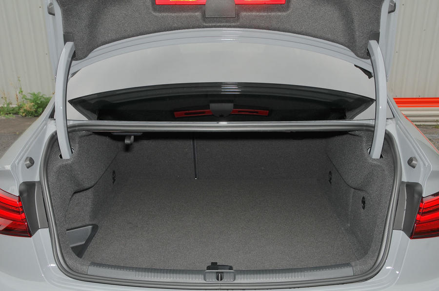 Audi RS3 boot space
