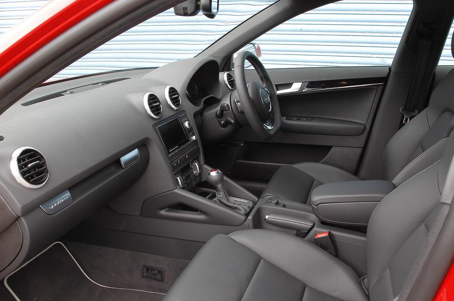 Audi RS3's front seats