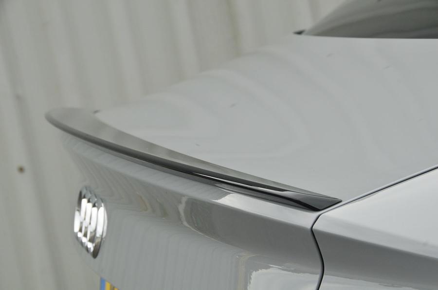 Audi RS3 rear spoiler