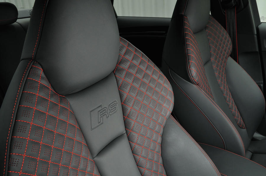 Audi RS3 bucket seats