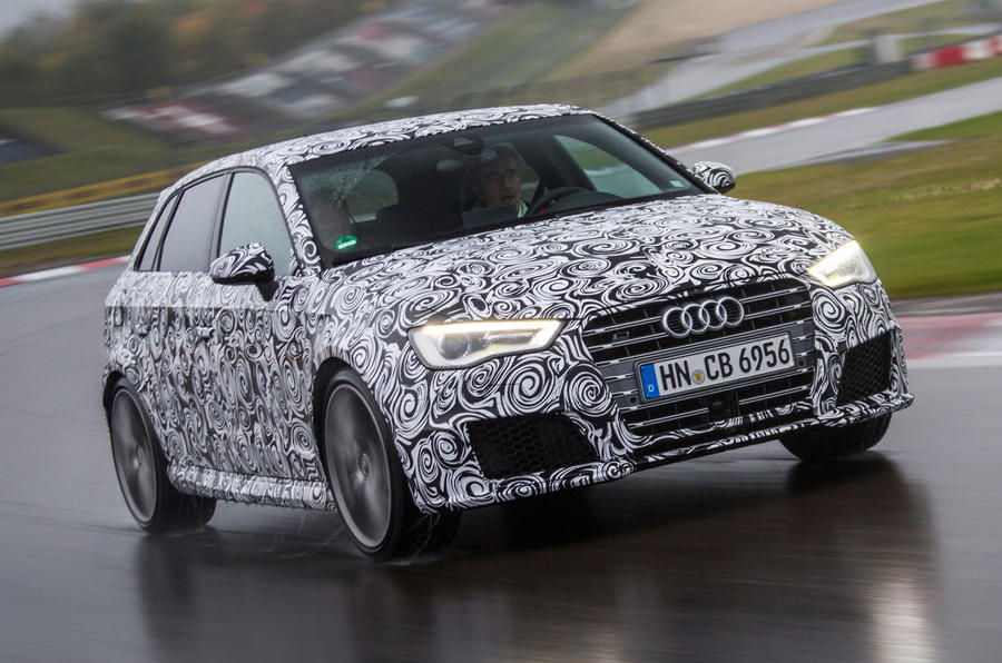New Audi RS3 Sportback - first details and ride