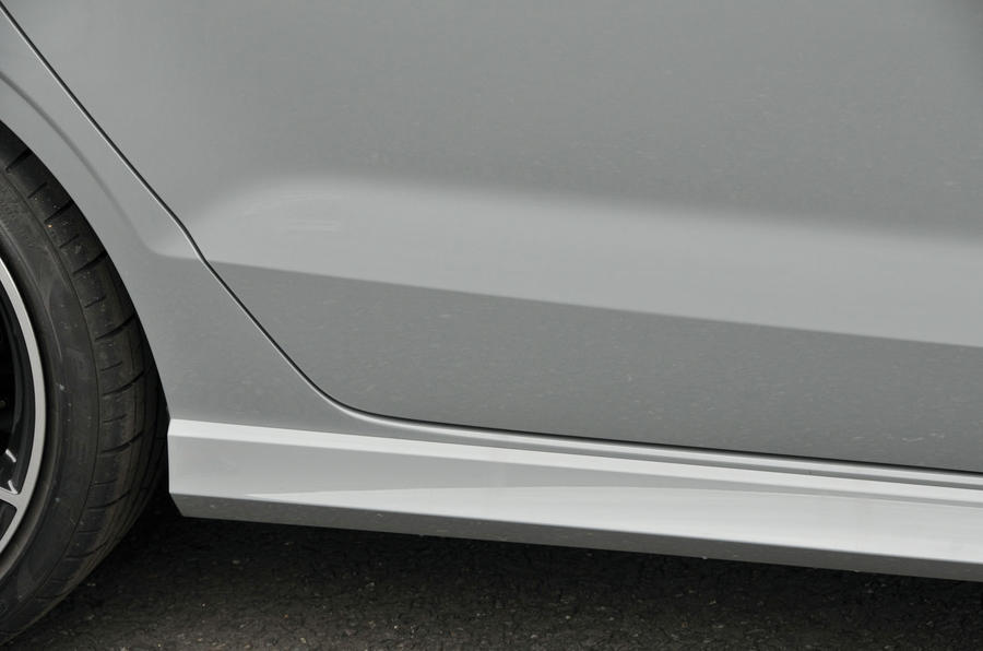 Audi RS3 side sills