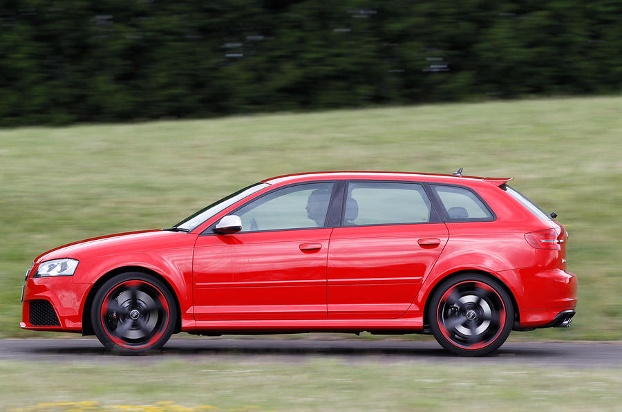 The hot hatch Audi RS3