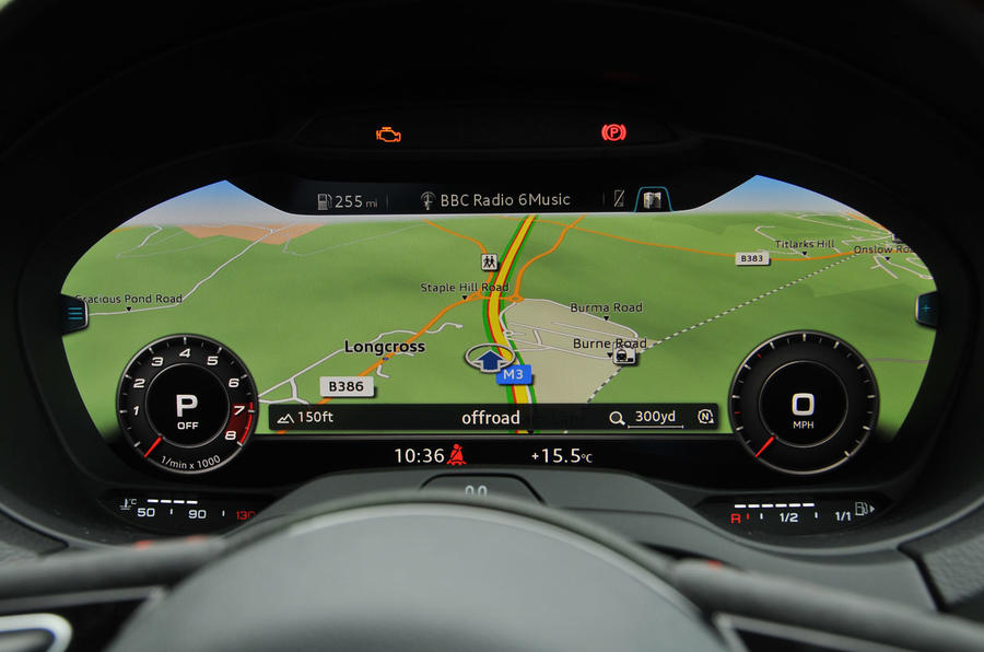 Audi RS3 Virtual Cockpit