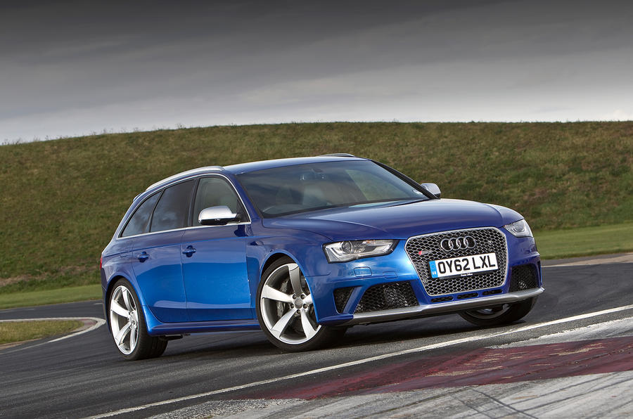 4 star Audi RS4 Avant