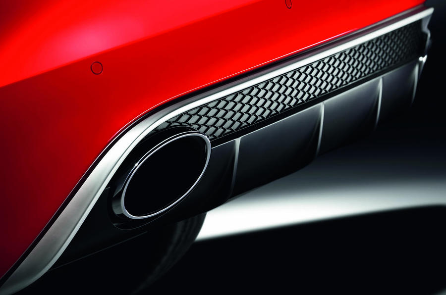Audi RS4 twin exhaust