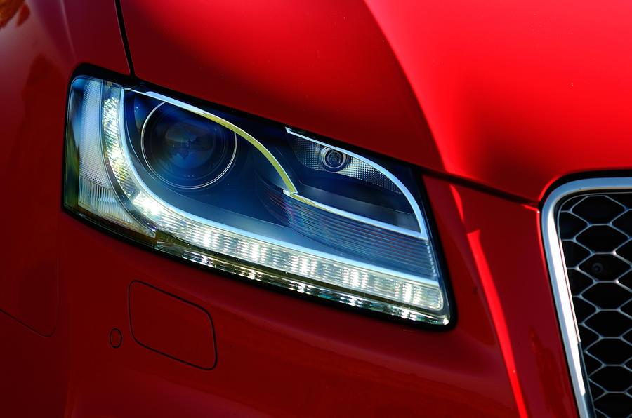 Audi RS5's headlights