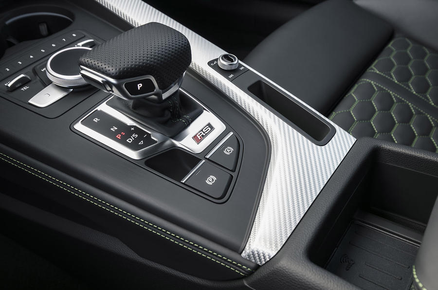 Audi RS5 automatic gearbox