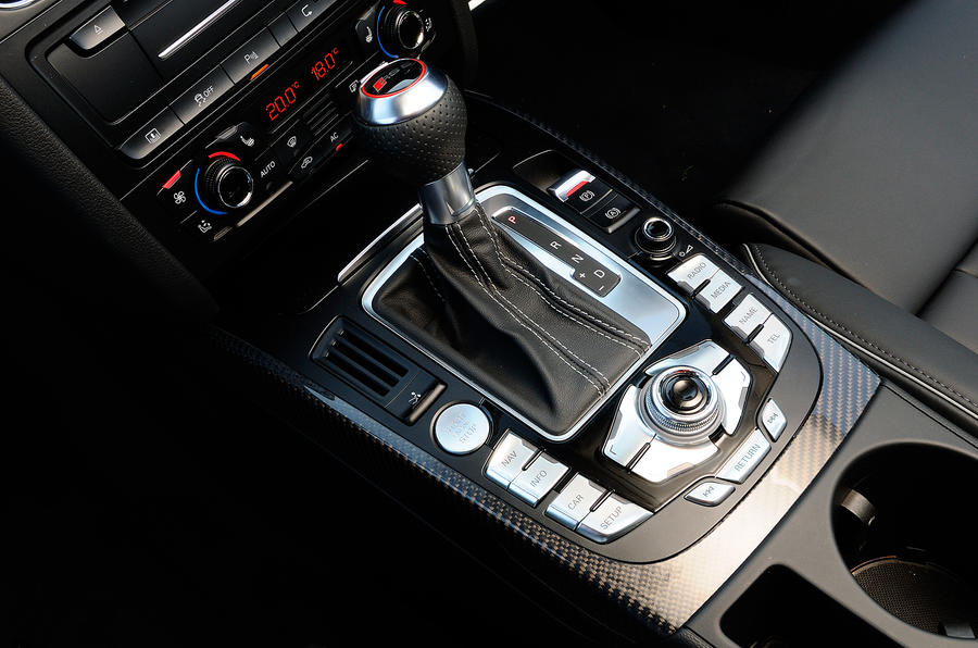 Audi RS5's automatic gearbox