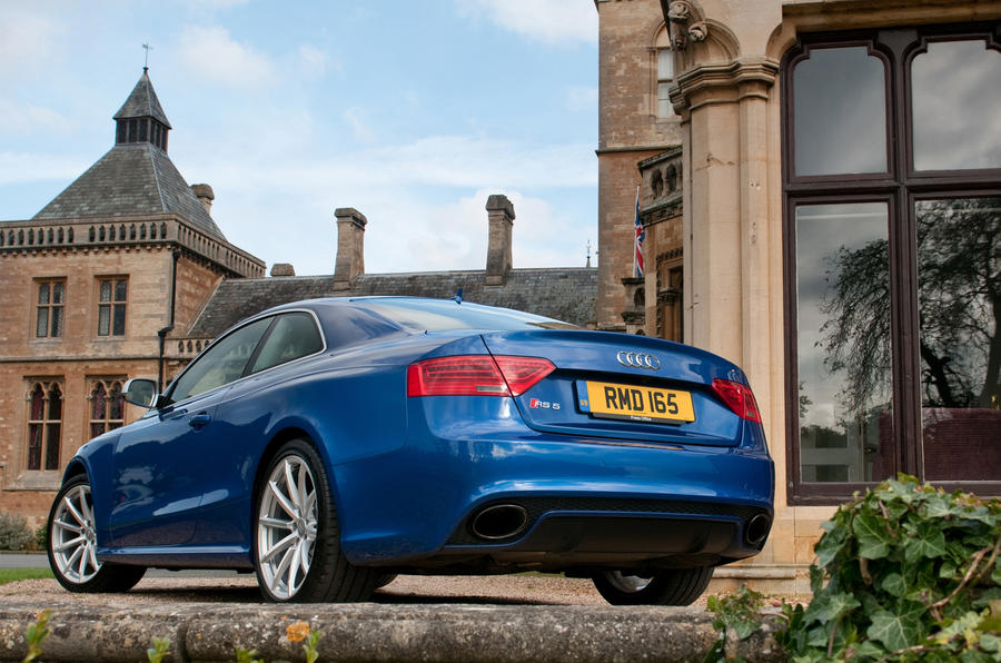 Audi RS5 rear quarter
