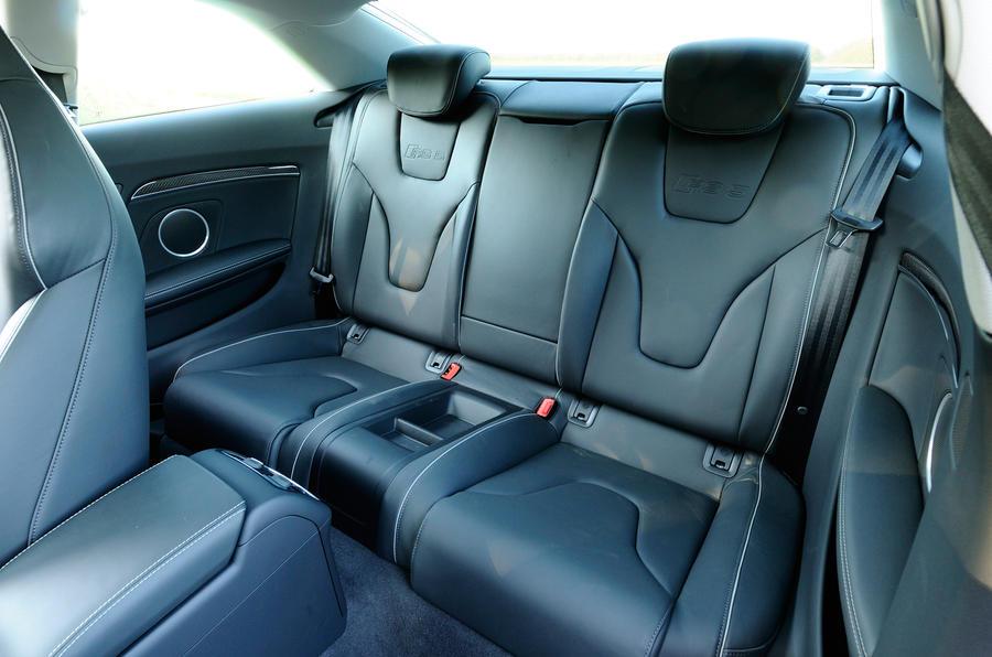 Audi RS5's rear seats