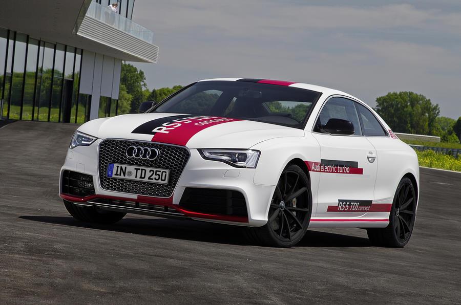 380bhp Audi RS5 V6 TDI-e prototype