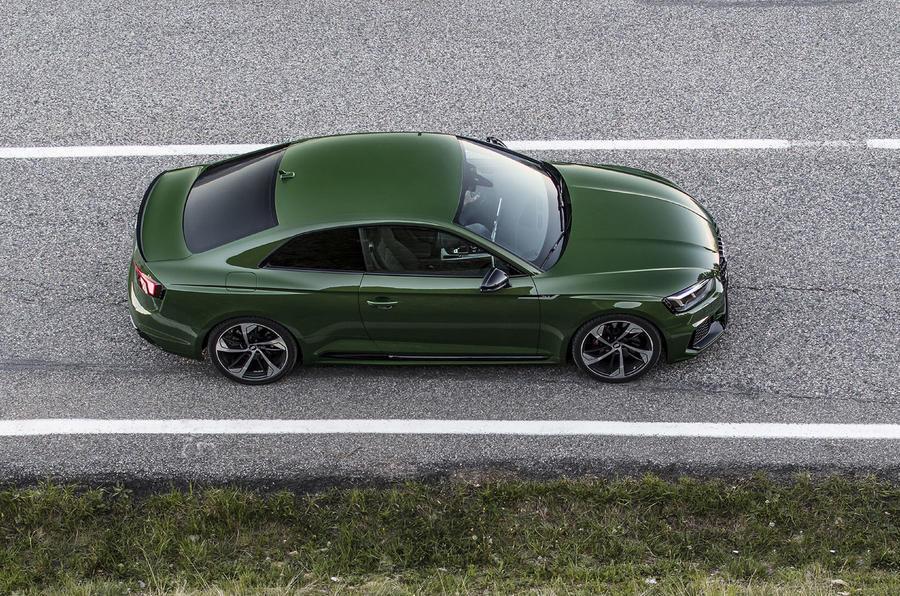 Audi RS5 top profile