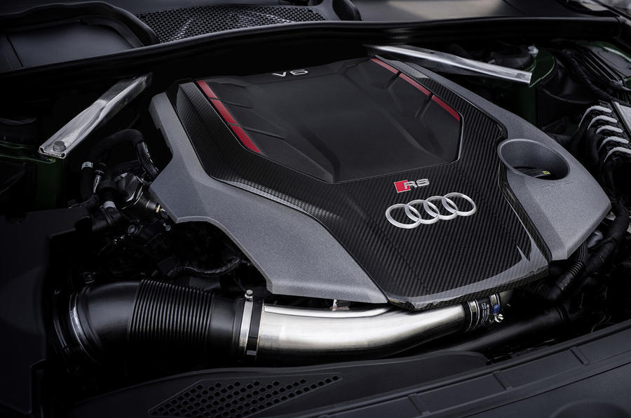 2.9-litre V6 Audi RS5 petrol engine