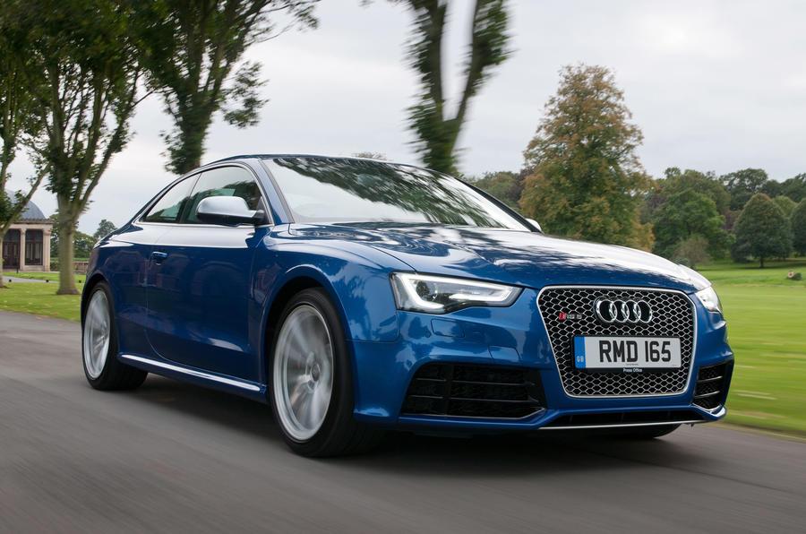 Audi RS5 front quarter