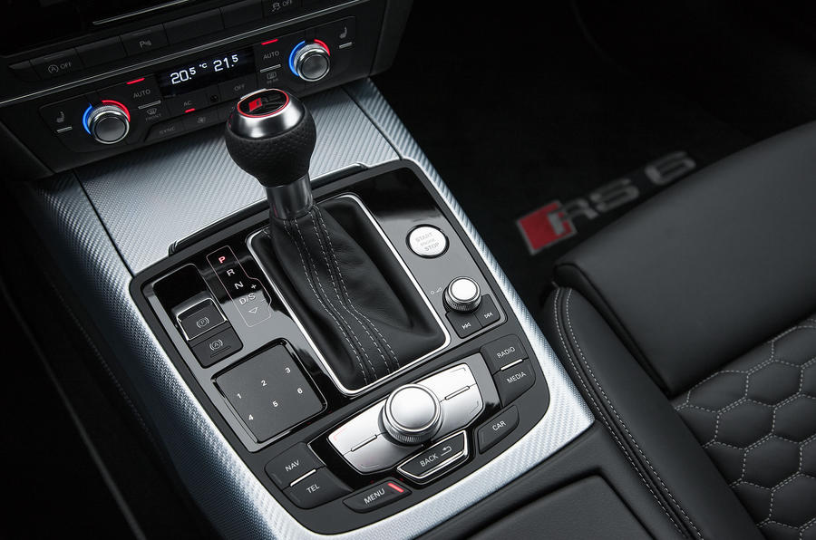 Audi RS6 automatic gearbox