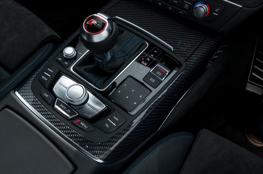 Audi RS6 S-tronic gearbox