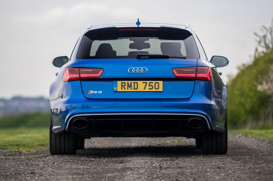 Audi RS6 Avant rear end