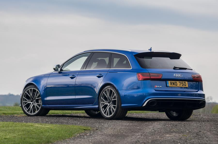 Audi RS6 rear quarter