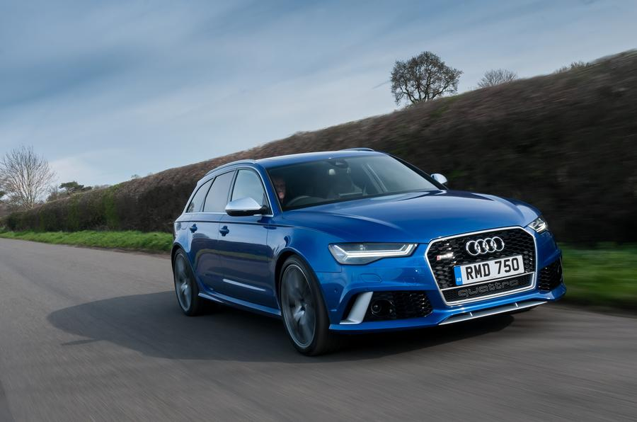 audi rs6 avant review 2017 autocar. Black Bedroom Furniture Sets. Home Design Ideas